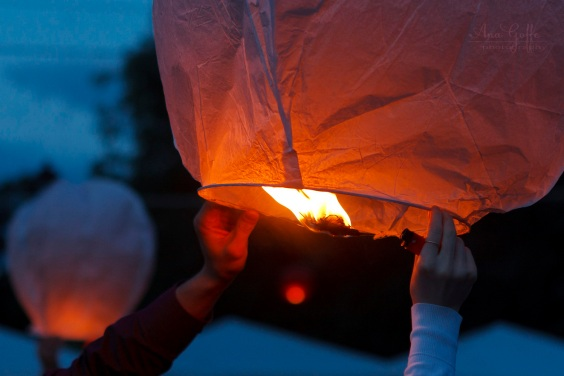 Sky Lantern Launch, Moscow, 26.05.2012